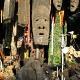 Suvenirų turgus prie Viktorijos krioklio