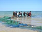 Mozambiko žvejai